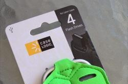 Dollar Store Accessories: Case Logic Flash drive carrier
