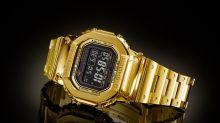 究極奢華!18K 純金造 G-Shock DW-5000 量產化確認
