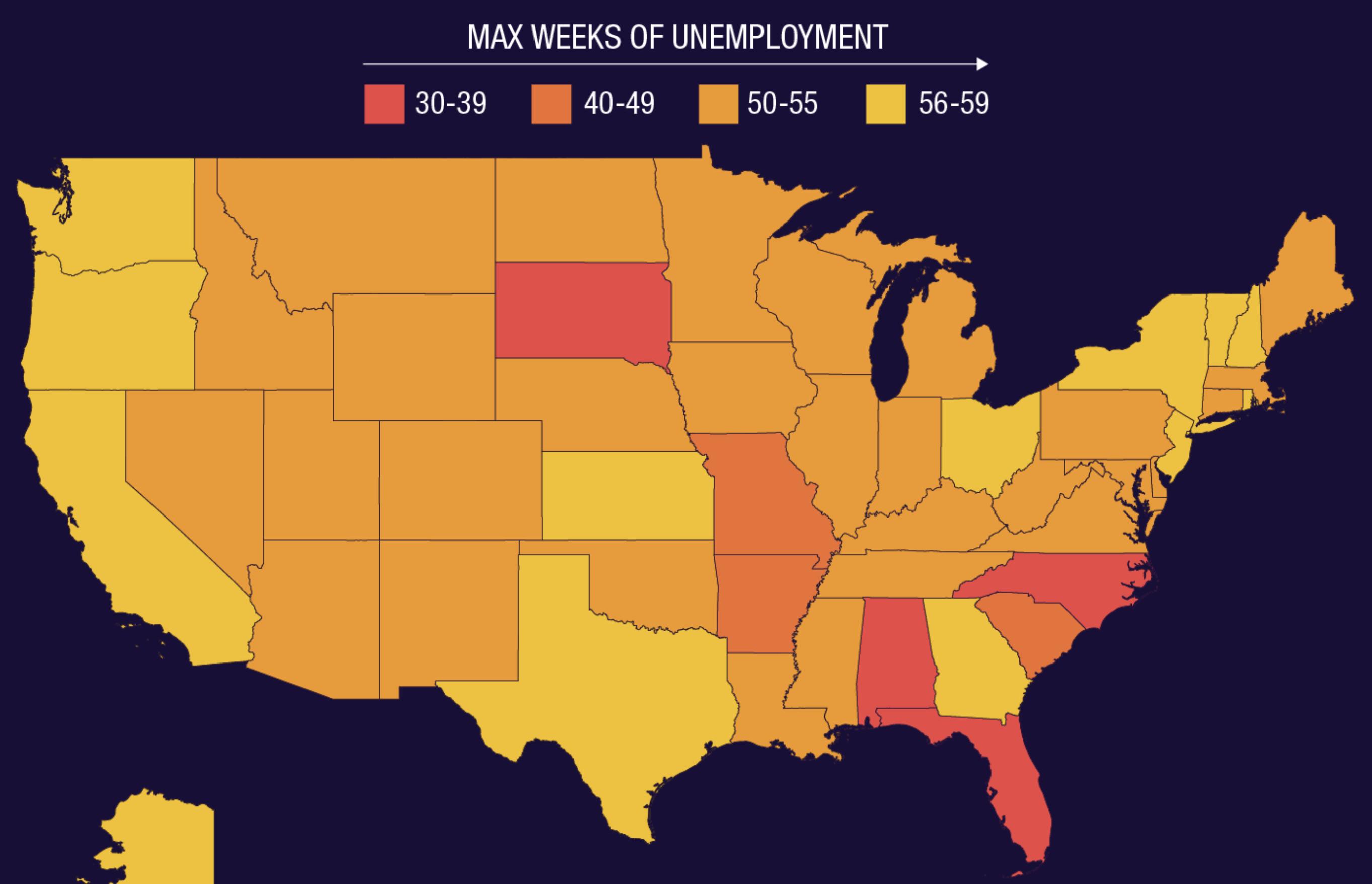 Coronavirus stimulus: States extend unemployment benefits as Congress debates extension