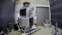 British-built spacecraft with 'Star Trek-style impulse engines' jets off for Mercury