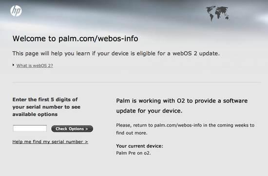 Palm Pre Plus to get webOS 2 after all?