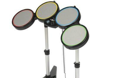 Rock Band Drum Kits ship to American and Canadian stores