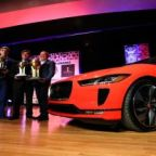 Jaguar I-Pace electric SUV sweeps awards at New York auto show