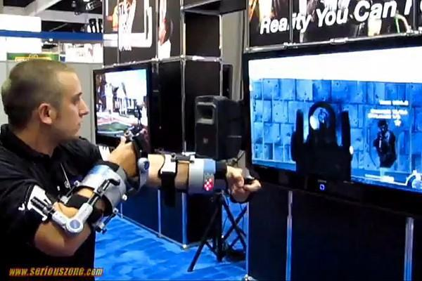 ForceTek XIO: the gaming controller that hurts you, not the TV (video)
