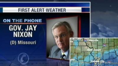 Update From Mo. Gov. Jay Nixon On The Blizzard