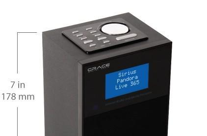 Grace Allegro WiFi radio keeps things simple and portable