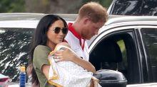 Überraschungsauftritt: Herzogin Kate und Herzogin Meghan machen Polo-Turnier zum Familien-Event