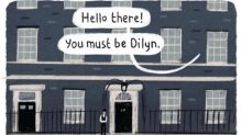 Stephen Collins on Larry and Dilyn – cartoon