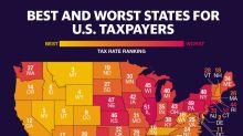 Los mejores y los peores estados de Estados Unidos para los contribuyentes