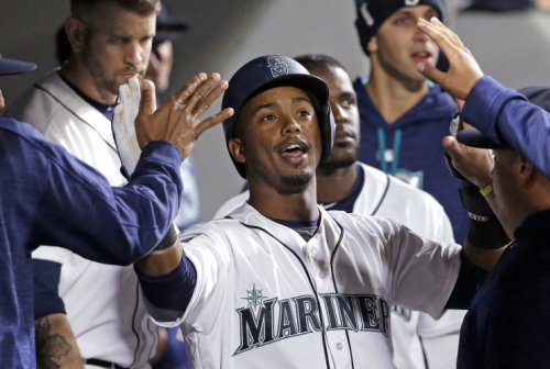 Jean Segura will be a member of the Mariners for five more years. (AP Photo)