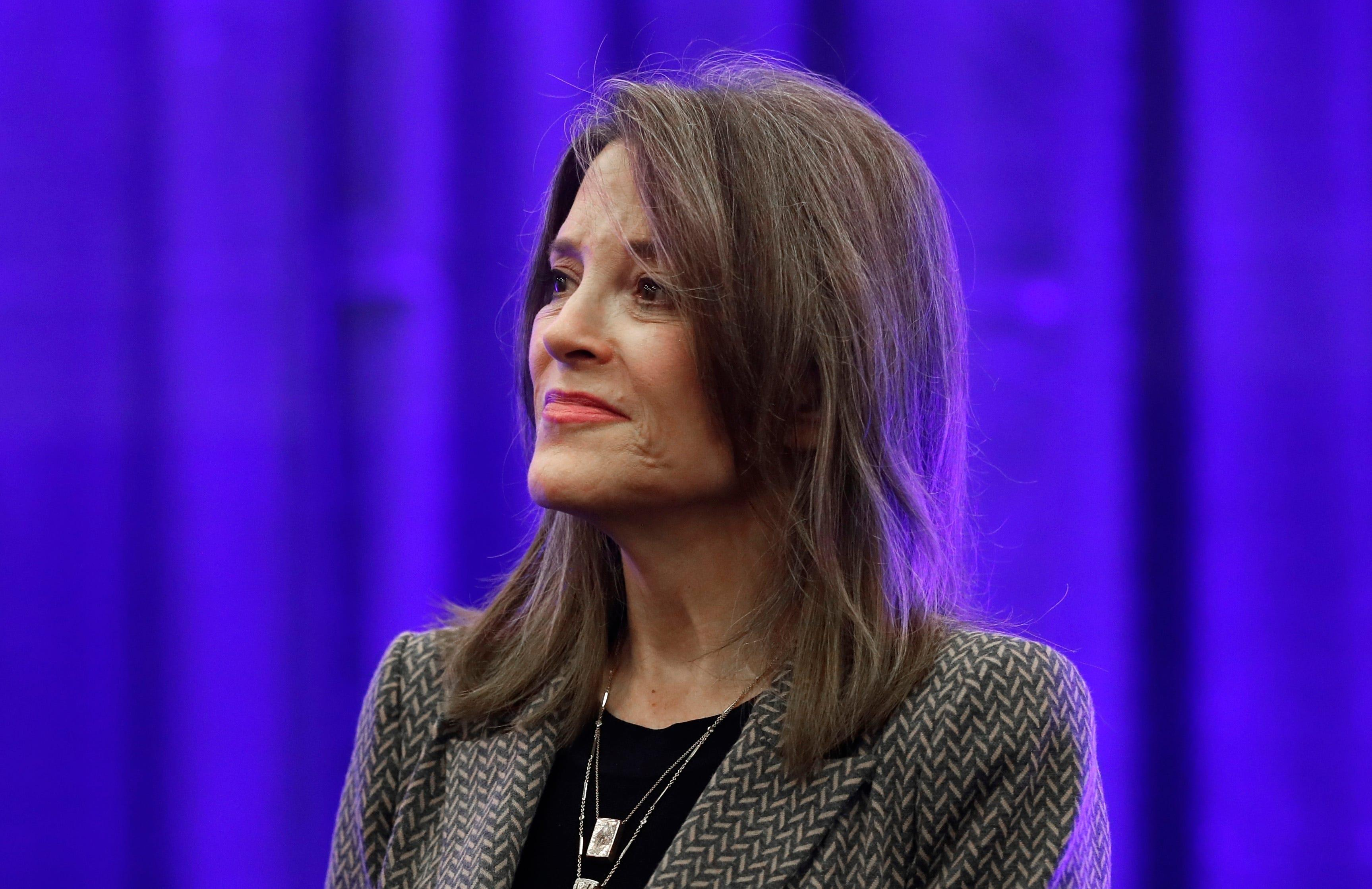 Marianne Williamson's impassioned defense of Flint was her breakout moment