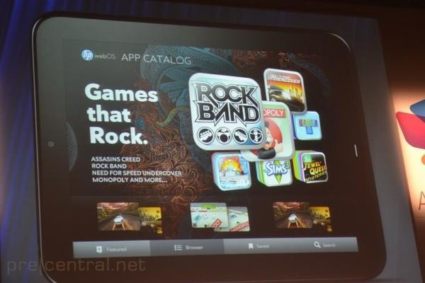 HP revamping webOS App Catalog for tablet use, adding carrier billing and magazine-like view