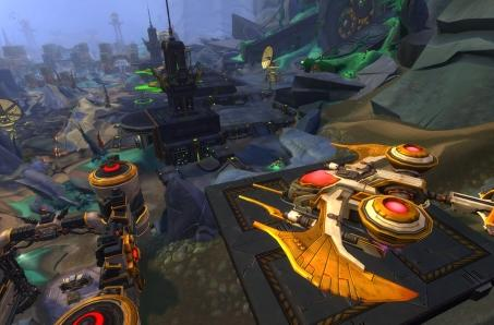Previewing WildStar's Daggerstone Pass PvP battleground