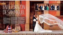 La foto de una boda en México genera polémica al calificarla de clasista y racista