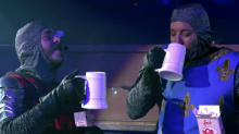 Post Malone And Jimmy Fallon Went To Medieval Times To Drink Beer And Eat Chicken Legs