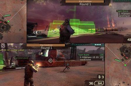 Starhawk shows off improved two-player splitscreen, more