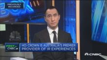 Crown Resorts has 'premier' Australian assets, says Melco CEO