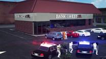 Three dead in car chase, shootout following bank robbery in California