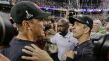 It's John Harbaugh's turn to represent America's First Family of football in UK