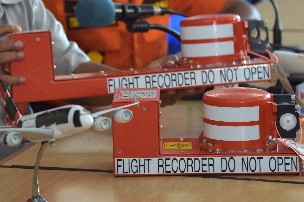 Despite the name, the two boxes -- consisting of the flight data recorder and the cockpit voice recorder -- are in fact bright orange