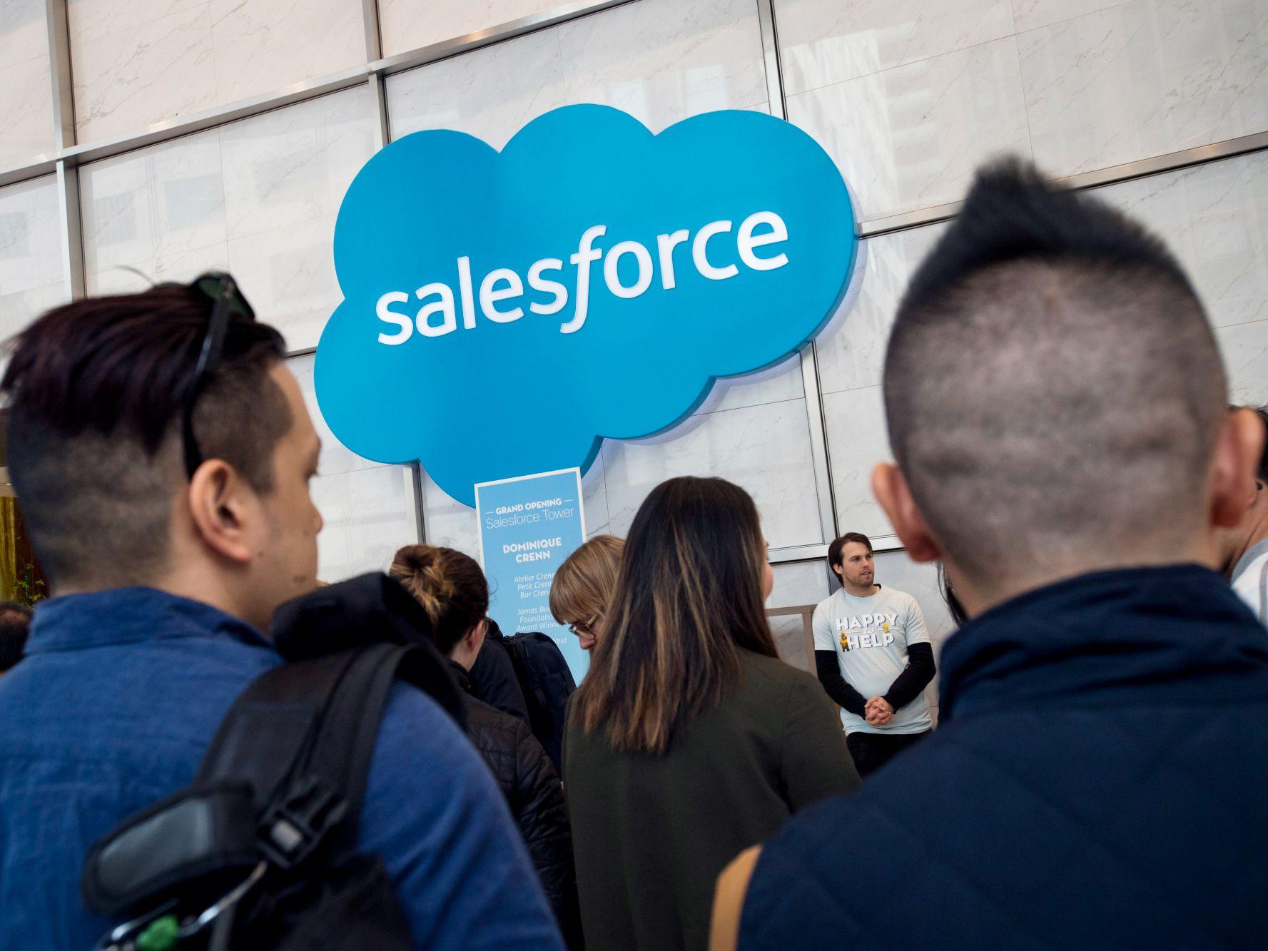 Salesforce Conference Interrupted by Immigration Protesters