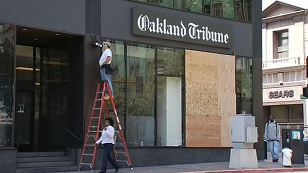 Oakland businesses brace for 2nd weekend of protests