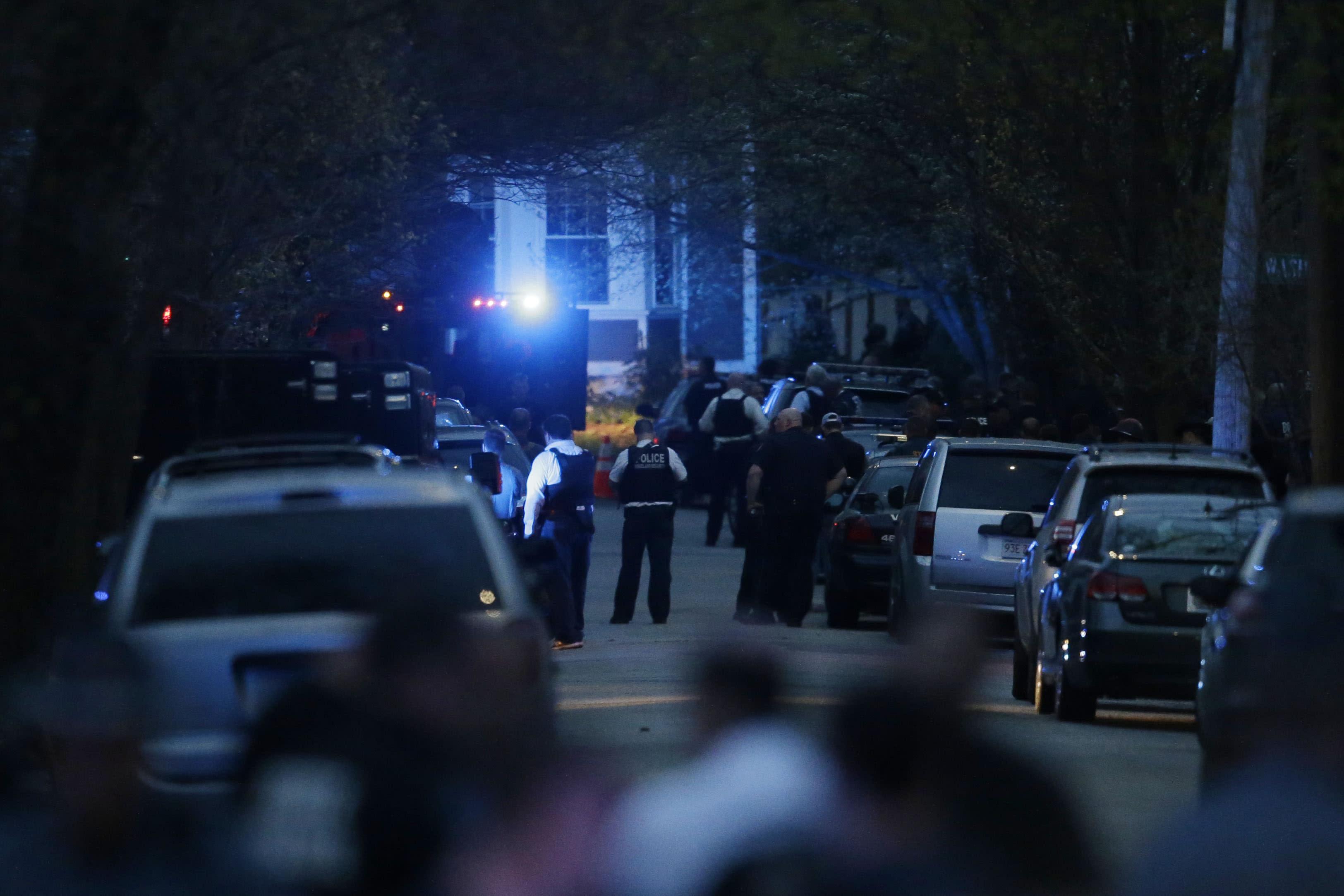 Bomb suspect in boat stored in Mass  neighborhood