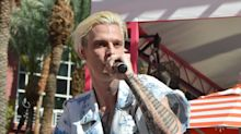 Aaron Carter hits out at Michael Jackson accusers for 'stomping on an icon' and Paris Jackson approves