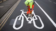 Motorists could be given £130 fines for driving in cycle lanes, under government plans