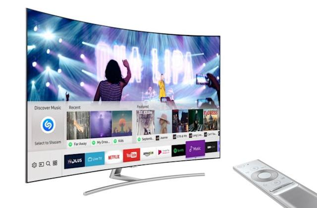 Shazam brings its music-recognition skills to Samsung TVs