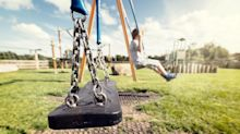 Is eight too young for a child to go to the park alone?