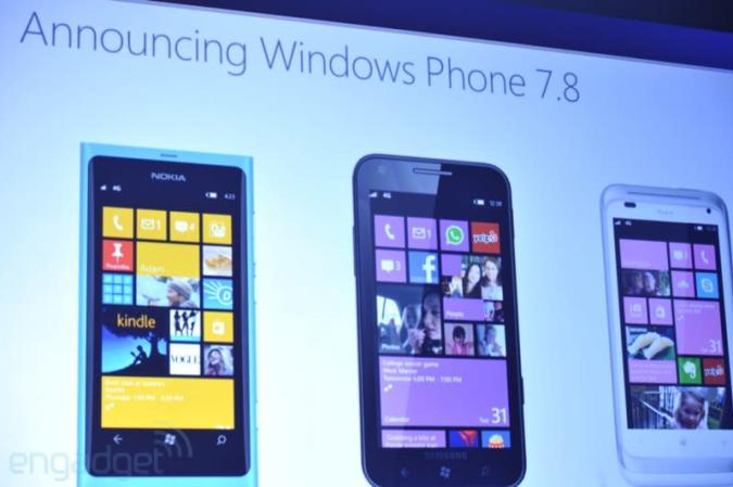 Microsoft confirms no upgrade path to Windows Phone 8, unveils 7.8 for legacy devices