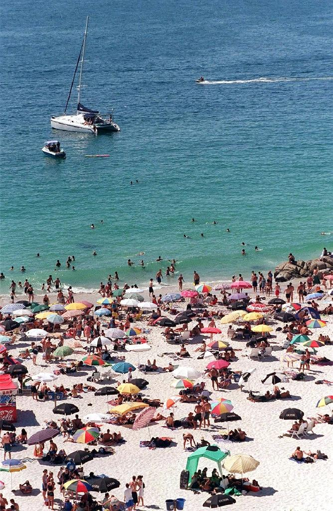 ppa guards allegedly told black beachgoers to leave clifton beach in cape town pictured 1999