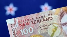 Kiwi down slightly ahead of budge estimates, dollar gains noted