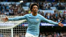 Sane's simple stuff delights Guardiola after poor pre-season