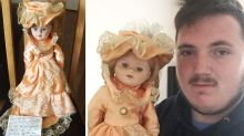 Haunted 'ghost' trapped inside terrifying doll