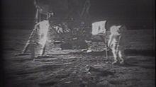 Original Apollo 11 landing videotapes sell for $1.8M