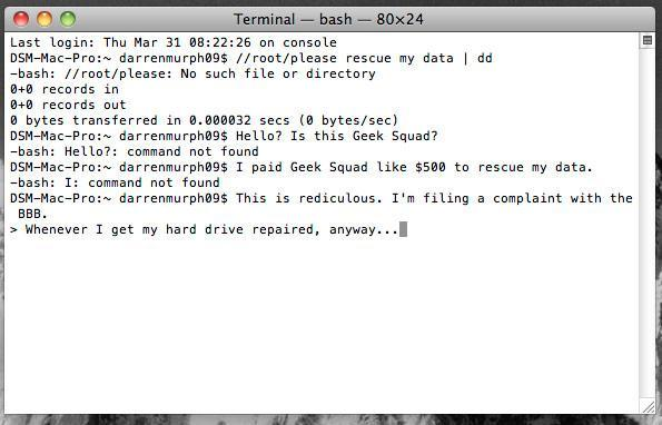 World Backup Day reminds you to backup your world, today
