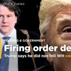 Trump denies he told White House counsel Don McGahn to fire Robert Mueller