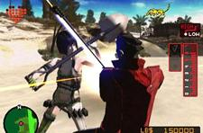 Trio of brief clips from No More Heroes
