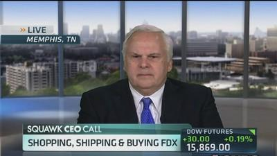FedEx CEO: Tax code has to change
