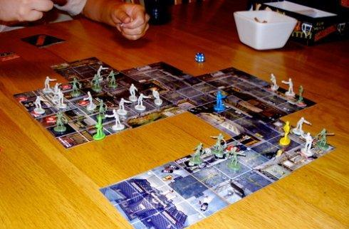 Zombies!!! board game to eat video game brains