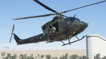 Raw Video: Inside a Canadian Griffon helicopter in Iraq