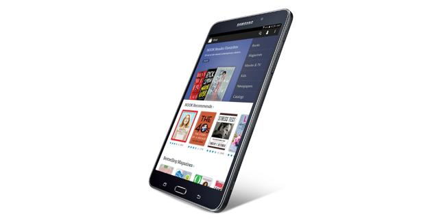 Barnes & Noble teams up with Samsung for its newest Nook tablet