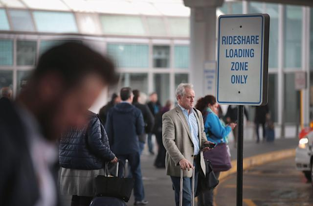 Uber is testing PIN-based pickup at the Portland airport
