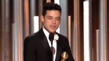 Rami Malek Doesn't Thank Bohemian Rhapsody Director Bryan Singer During Golden Globe Speech