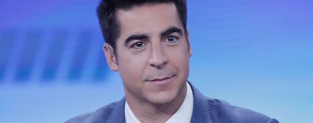 """Fox News host Jesse Watters reads texts from his mom telling him to stay in his """"wheelhouse."""" (John Lamparski/Getty Images)"""