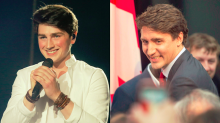 Irish Eurovision singer draws comparisons to Justin Trudeau