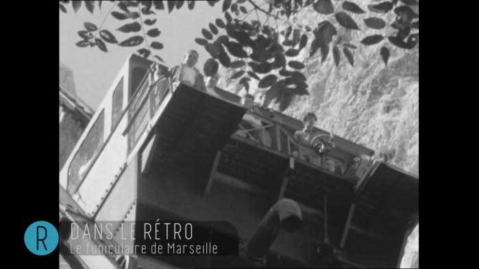 Dans le rétro : quand le funiculaire de Notre-Dame de la Garde était un emblème de Marseille