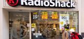 People walk past the Radio Shack in downtown Washington, D.C., on March 16, 2017. (Getty Images)